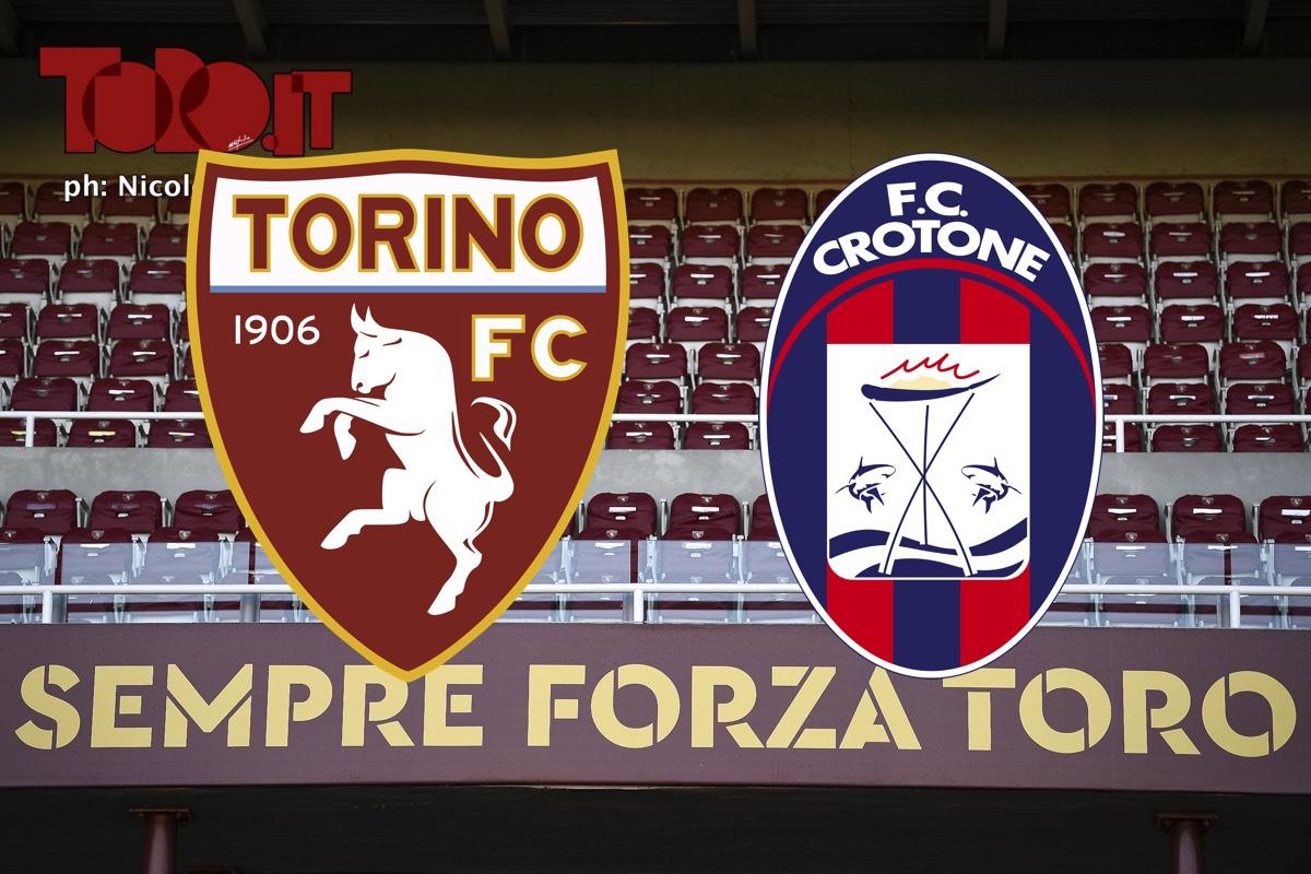 Torino-Crotone, diretta