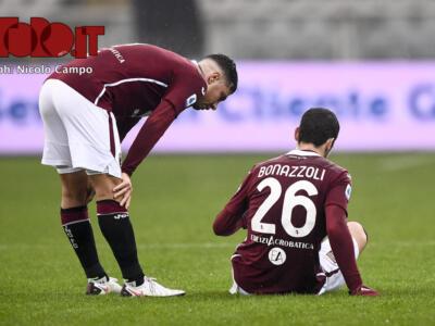 Torino, Bonazzoli resta in dubbio: solo differenziato al Filadelfia