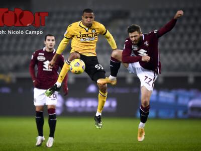 Udinese-Torino: i precedenti sorridono alla squadra bianconera