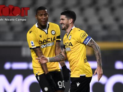 La probabile formazione dell'Udinese: Forestieri e Llorente per il tandem d'attacco