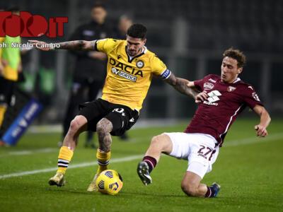 Giudice Sportivo, nessuno squalificato per Udinese-Torino, Bernardeschi multato per simulazione