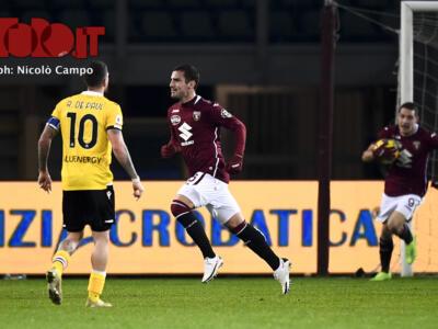 Udinese-Torino, i numeri: granata meglio fuori casa