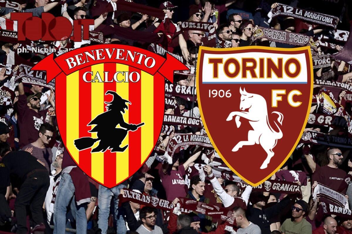 Benevento-Torino, diretta