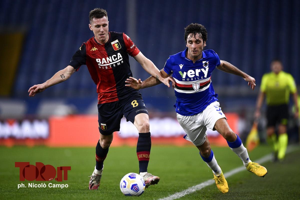 Lukas Lerager e Tommaso Augello