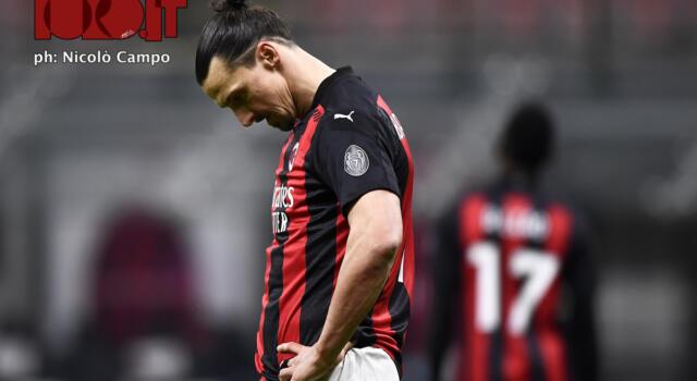 Ibrahimovic, out contro il Toro: il ginocchio ferma l'attaccante