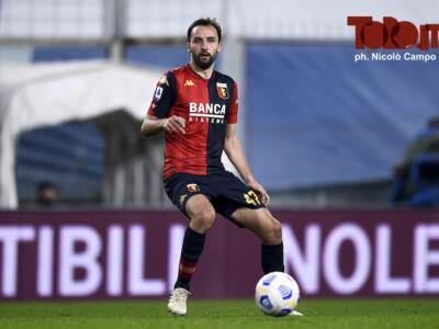 Giudice Sportivo: Badelj salta Torino-Genoa per squalifica