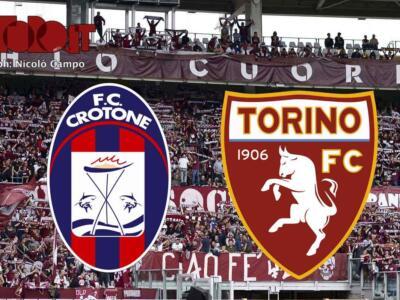 Crotone-Torino 4-2: il tabellino