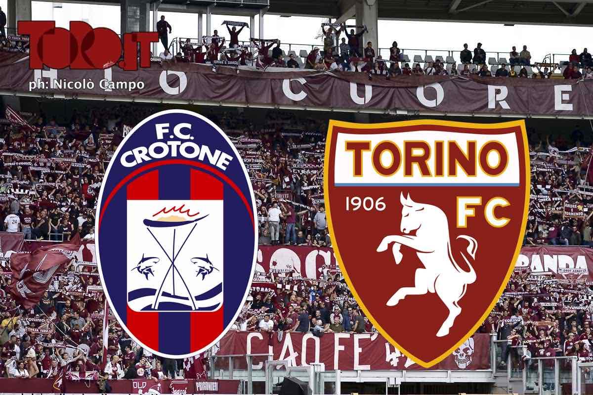 Crotone-Torino, diretta