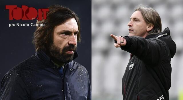Torino-Juventus, Nicola contro Pirlo: un confronto che va oltre il campo