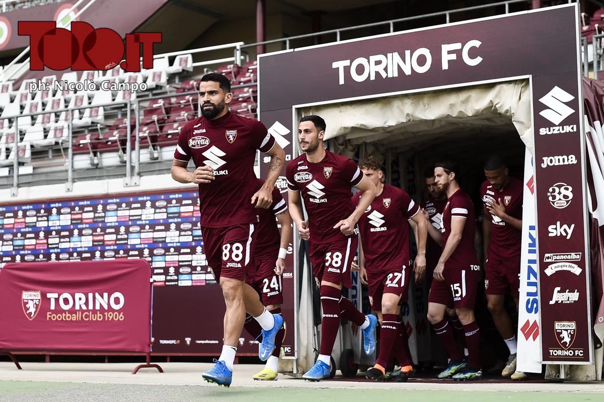 Torino entra in campo