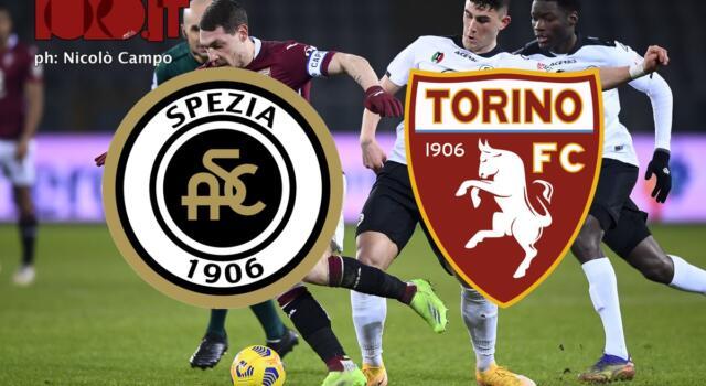 Spezia-Torino 4-1: il tabellino