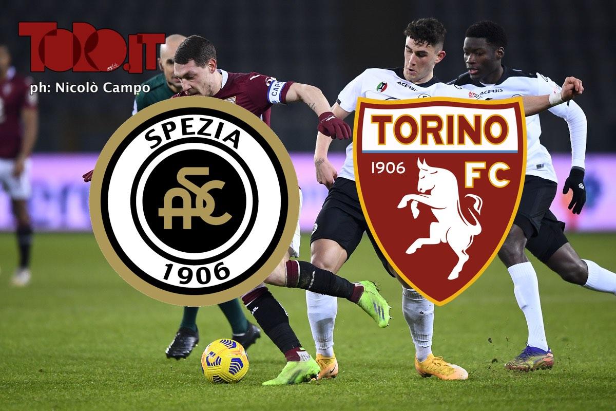 Spezia-Torino, la diretta