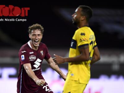 Al Torino segnano tutti: Vojvoda è il 17° marcatore diverso in campionato