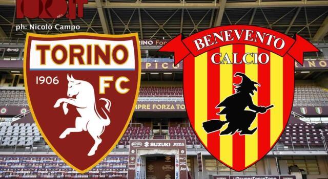 Torino-Benevento 1-1: il tabellino