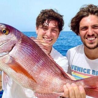 Verdi e Baselli si improvvisano… pescatori!