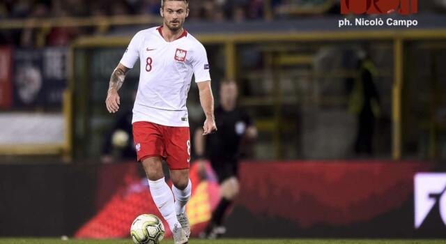Linetty, gol granata all'Europeo: non accadeva da  41 anni