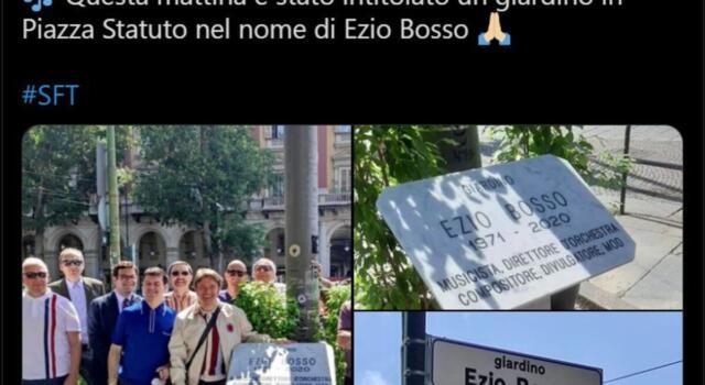 Toro, i giardini di Piazza Statuto intitolati a Ezio Bosso