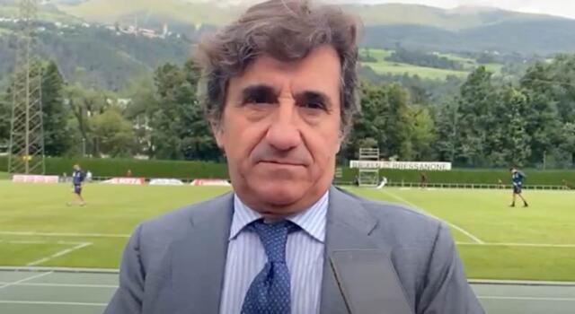 """VIDEO / Cairo da Bressanone: """"Belotti? Gli abbiamo fatto un'offerta importante"""""""