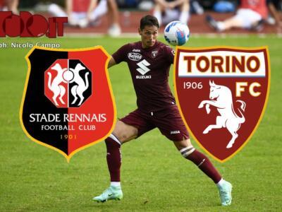 Rennes-Torino 1-0: il tabellino