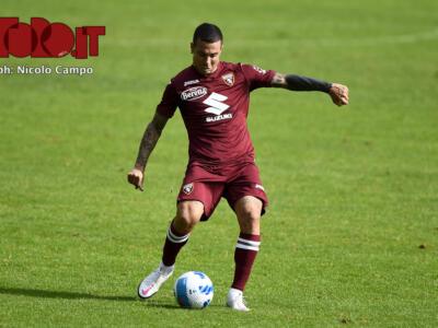 Il Torino recupera Izzo: è tornato ad allenarsi in gruppo
