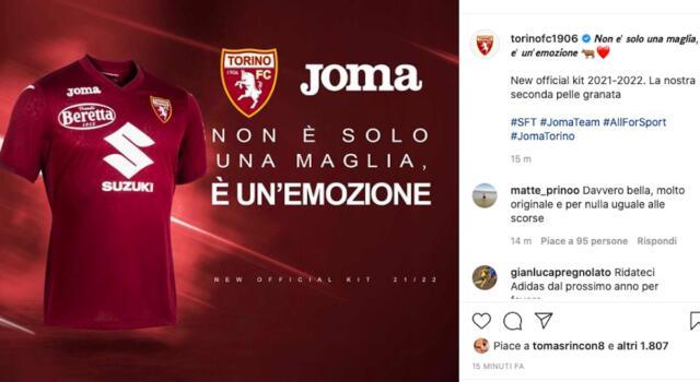 Torino, le maglie 2021/2022: quella granata è senza il colletto, la bianca omaggia il River