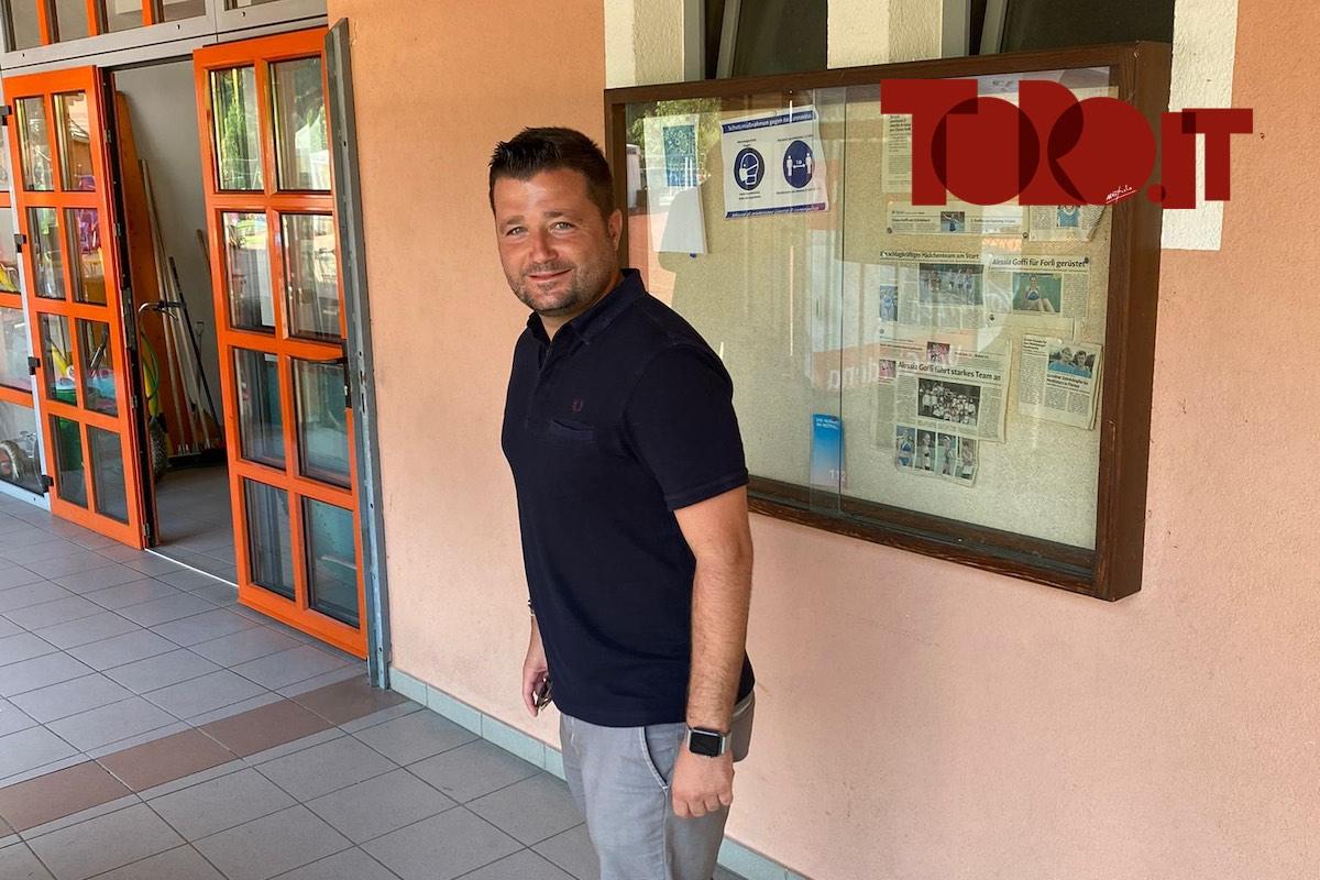 Federico Coppitelli a Santa Cristina