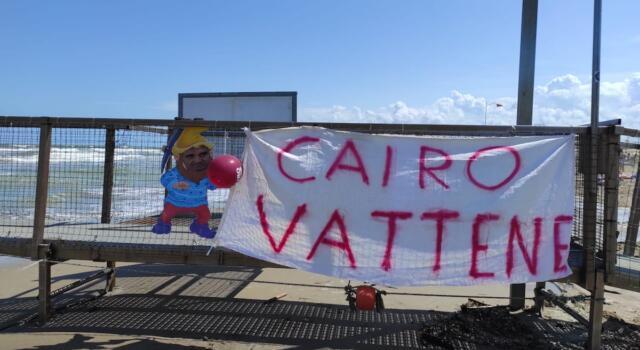 Toro, la contestazione a Cairo arriva anche a Rimini