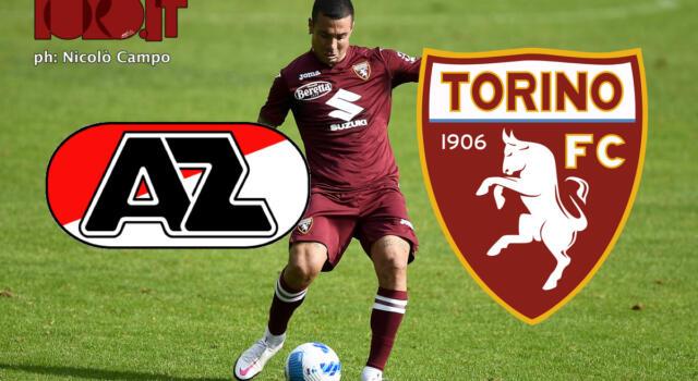 AZ Alkmaar-Torino 2-1: il tabellino