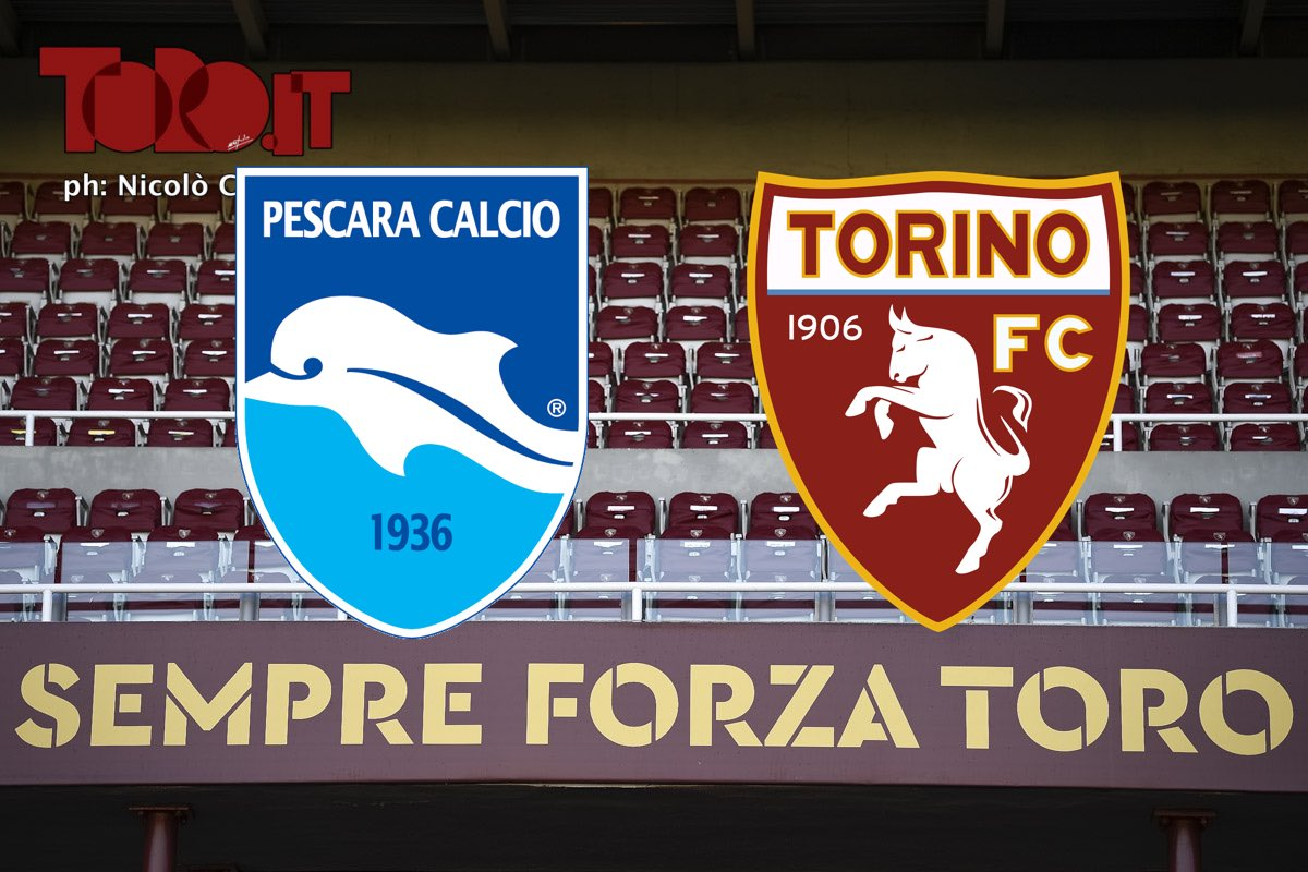 Pescara-Torino, diretta
