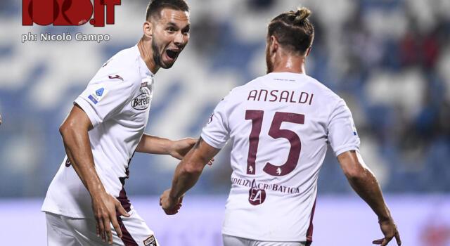 Torino: chi è stato il migliore in campo contro il Sassuolo?