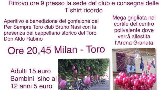 """Il TC Scalenghe presenta """"Pedala Toro"""""""
