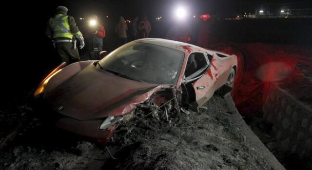 Vidal, incidente per troppo alcool: macchina distrutta e notte in caserma