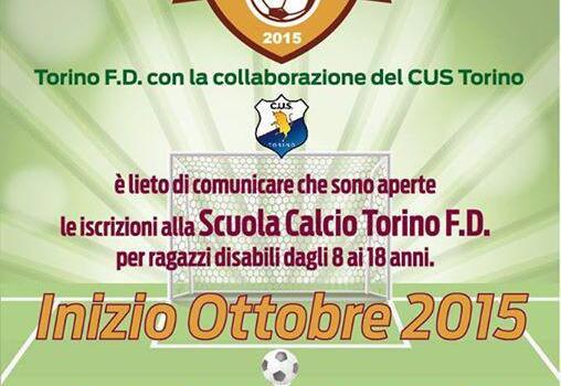Torino Fd, il 12 ottobre l'open day della scuola calcio