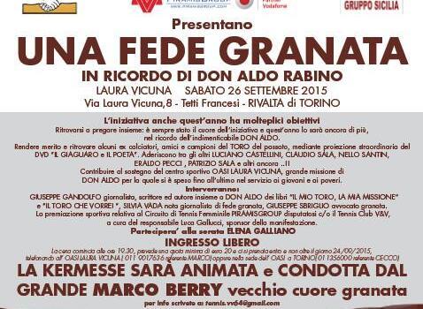 """I """"Picciotti"""" ricordano Don Aldo Rabino"""