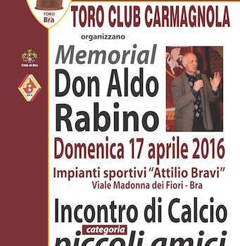 Toro Club Carmagnola: un torneo per Don Aldo