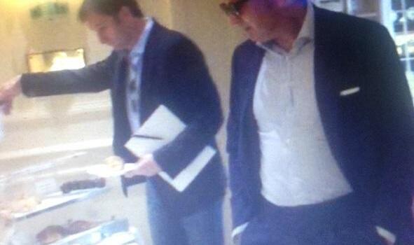 Mihajlovic a Torino: la foto in hotel questa mattina