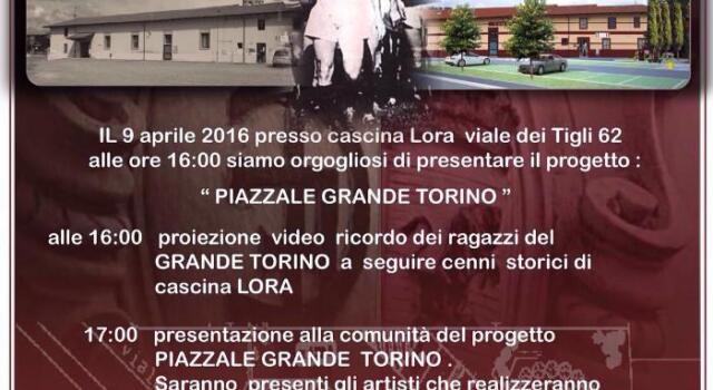 Una piazza per il Grande Torino: nasce l'iniziativa del TC Bruino