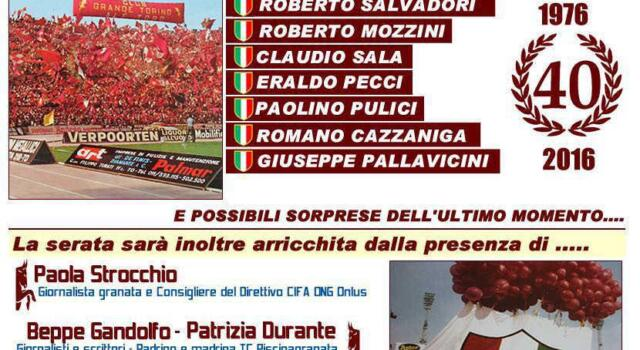 Piscina Granata: grande evento per celebrare lo scudetto