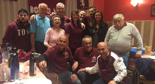 Festa granata a Borgo D'Ale con Pulici e Fossati