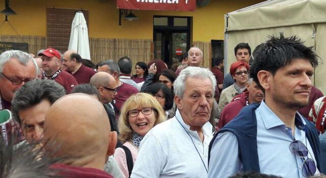 Raduno dei club, duecento cuori granata ieri a Settimo