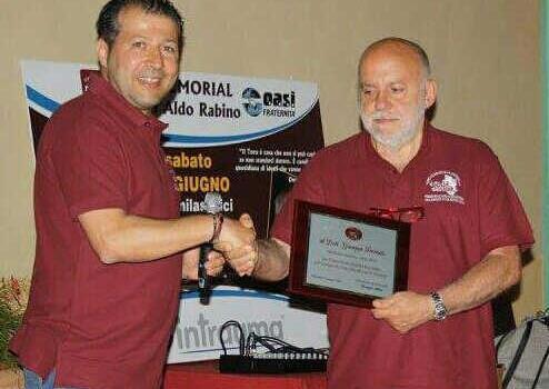 """Al Memorial """"Don Aldo Rabino"""" premiato Ferrauto"""