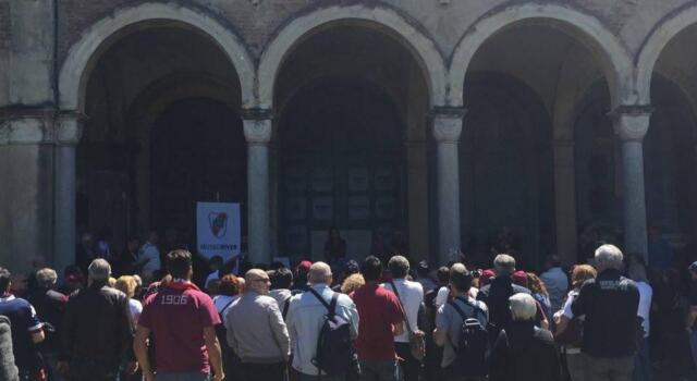 4 maggio al Monumentale: un centinaio di persone per gli Invincibili
