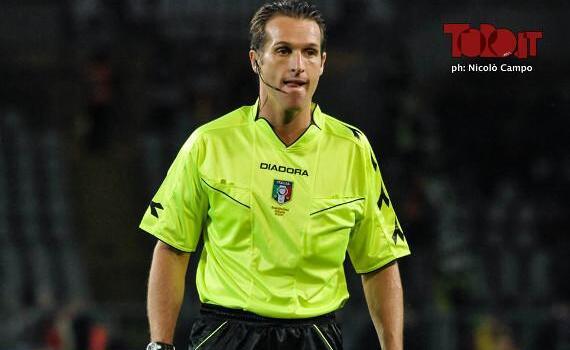 Frosinone-Torino, arbitra Banti