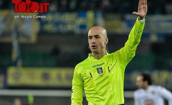 Torino-Sassuolo, arbitra Fabbri