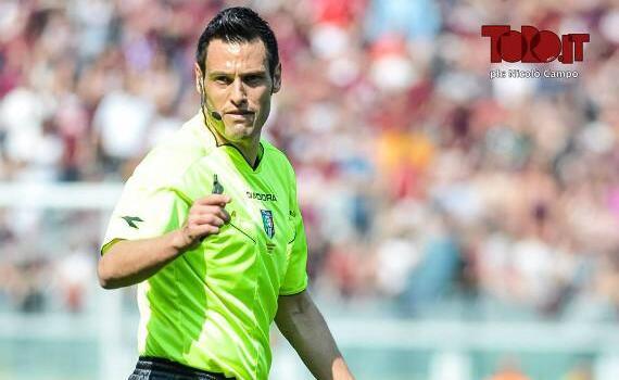 Mariani arbitrerà Torino-Palermo