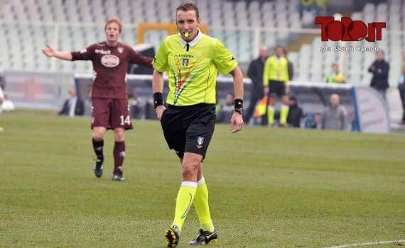 Lazio-Torino: arbitra Mazzoleni