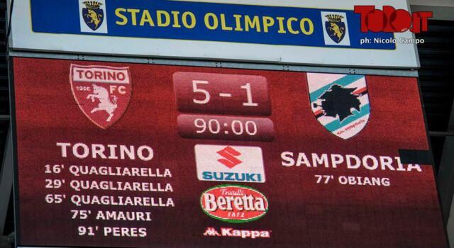 Torino-Sampdoria: dallo show dello scorso anno, all'ultima di Meroni