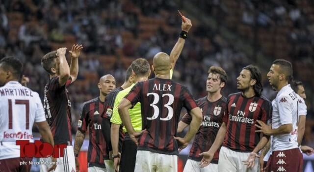 Milan-Torino, Valeri ok. Assistenti, no