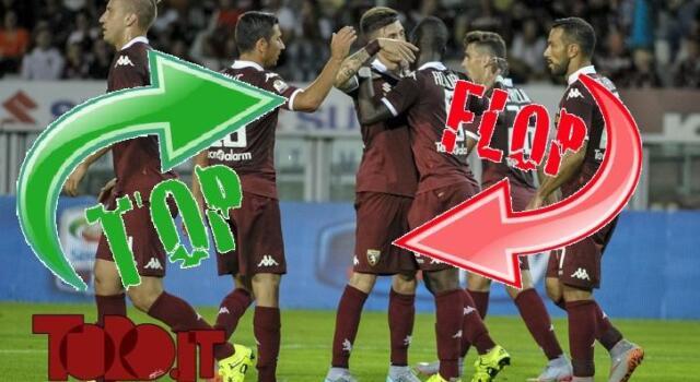 Top&Flop di Torino-Bologna