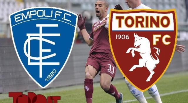 Empoli-Torino 2-1